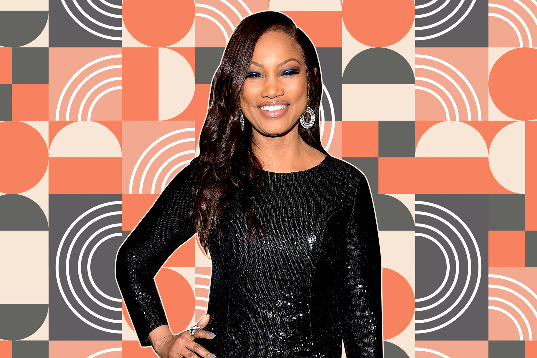 Garcelle Beauvais Model Throwback