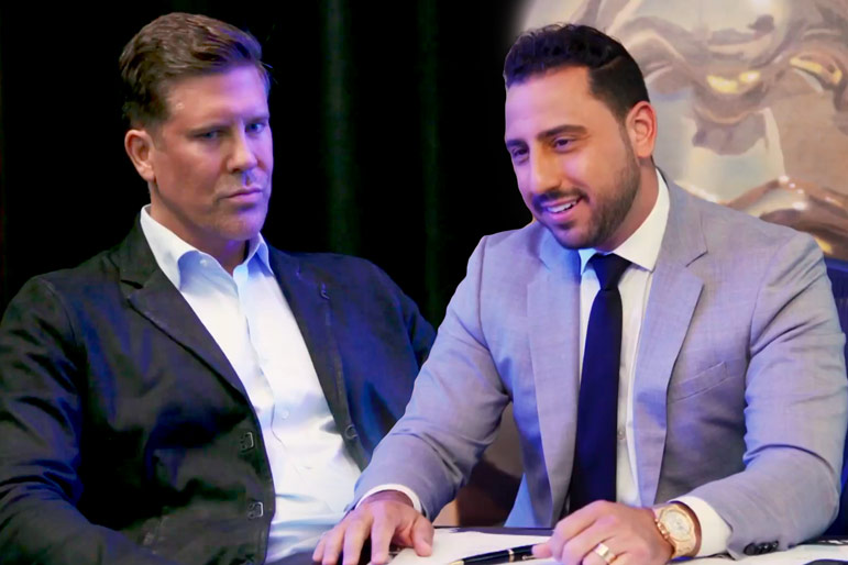 Josh Altman Fredrik Eklund Friendship