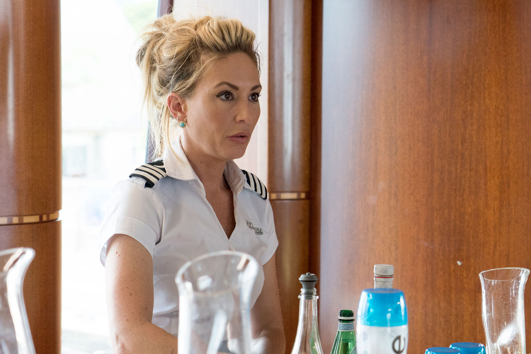 Kate Chastain Below Deck Filming