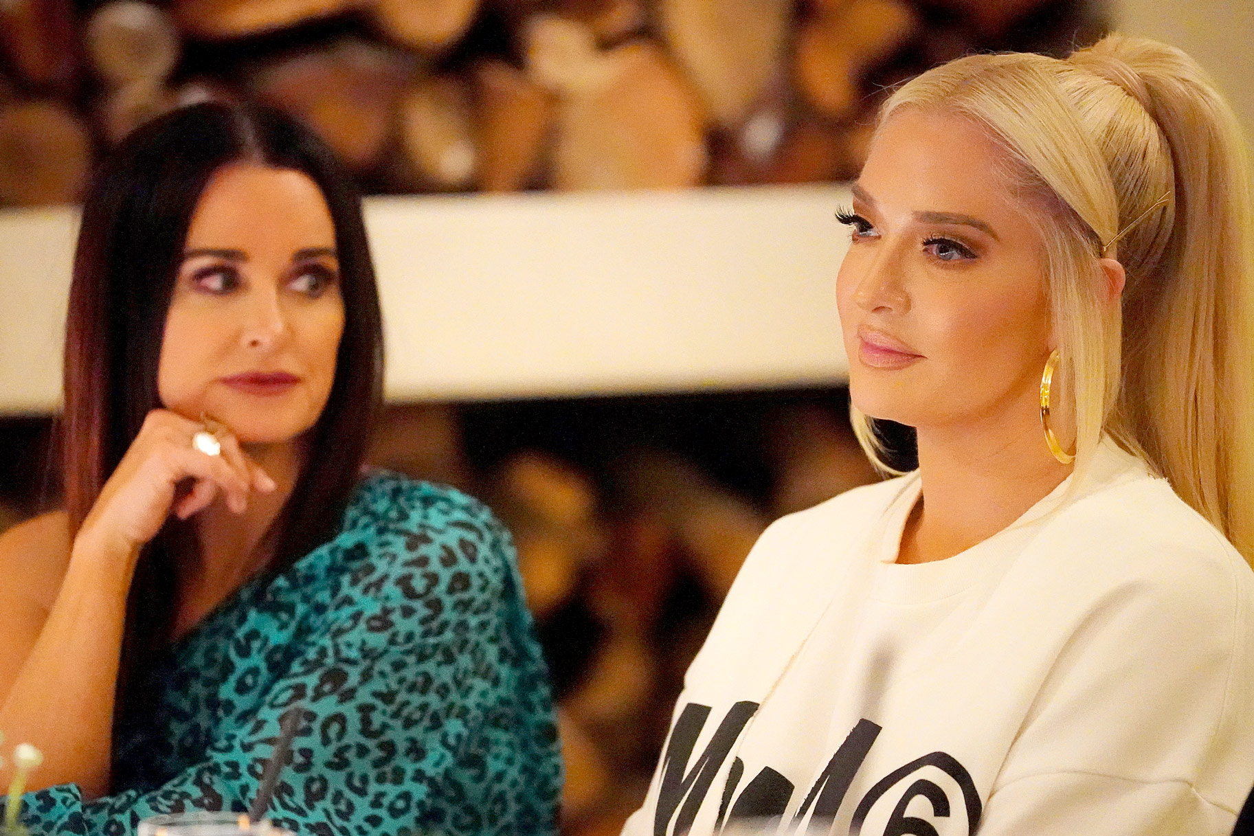 Kyle Richards Erika Jayne Friendship