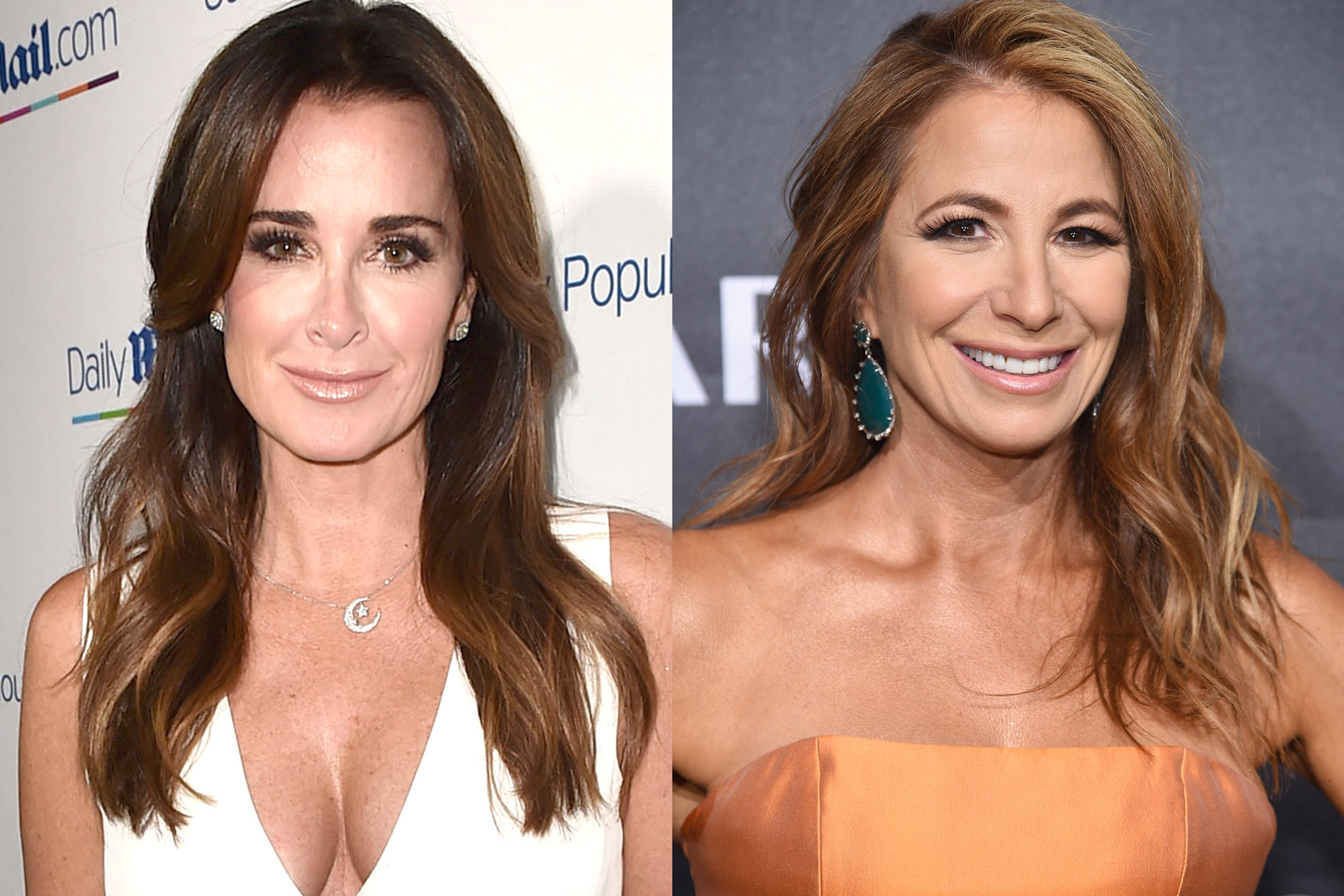 Kyle Richards Jill Zarin Drama
