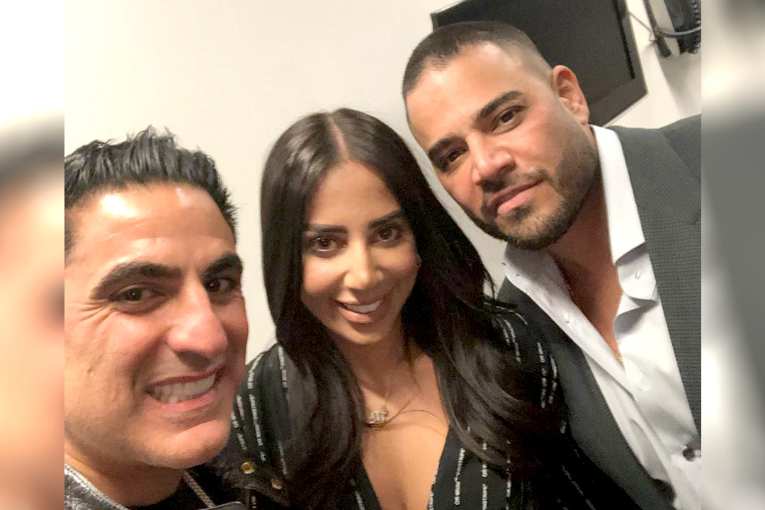 Mike Shouhed Reza Farahan Bravocon