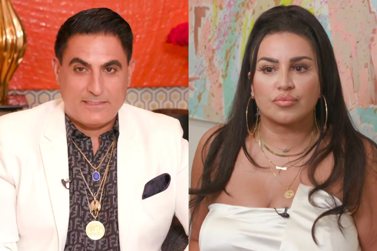 Reza Farahan Mercedes Javid Friendship