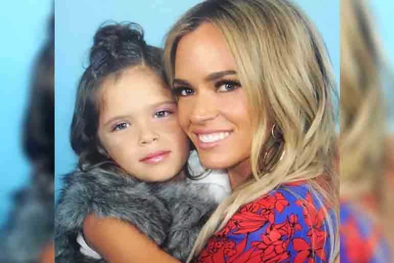Teddi Mellencamp Slate Angel Daughter