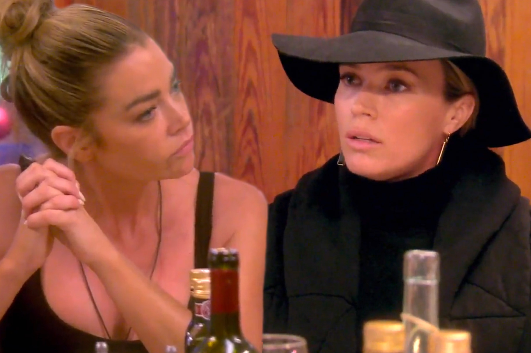 Denise Richards Teddi Mellencamp Drama