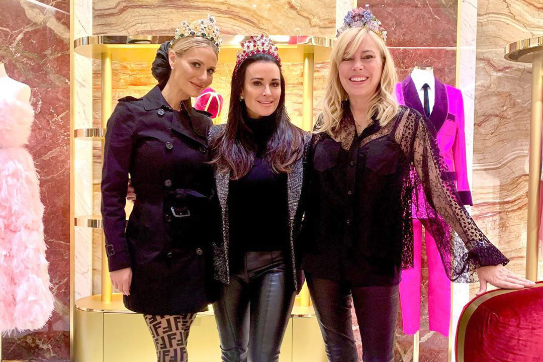 Housewives Rhobh Shopping Italy Trip