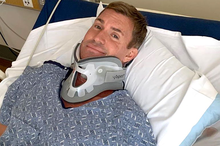 Jeff Lewis Neck Surgery Recovery