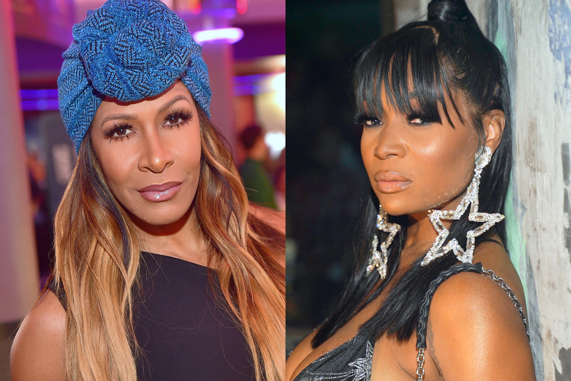 Marlo Hampton Sheree Whitfield Drama
