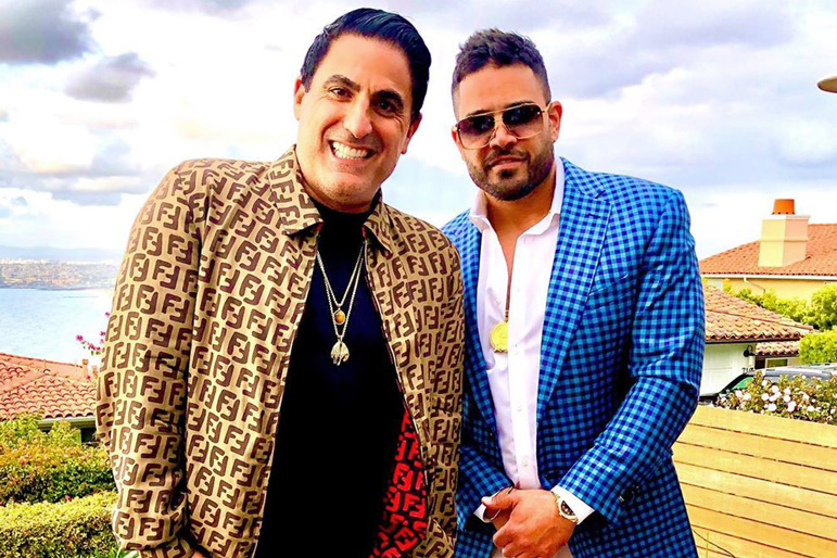 Reza Farahan Mike Shouhed Friendship