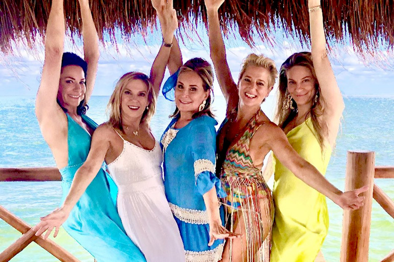 Rhony In Mexico Bts Trip