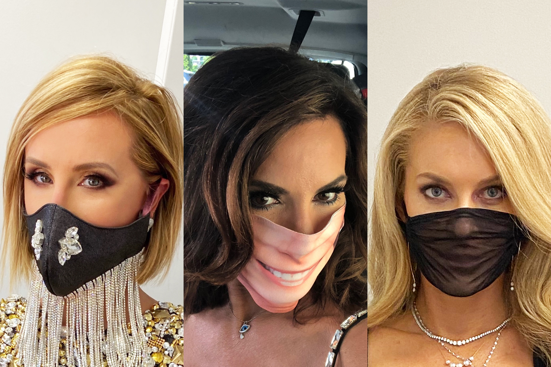 Rhony Reunion Looks 1