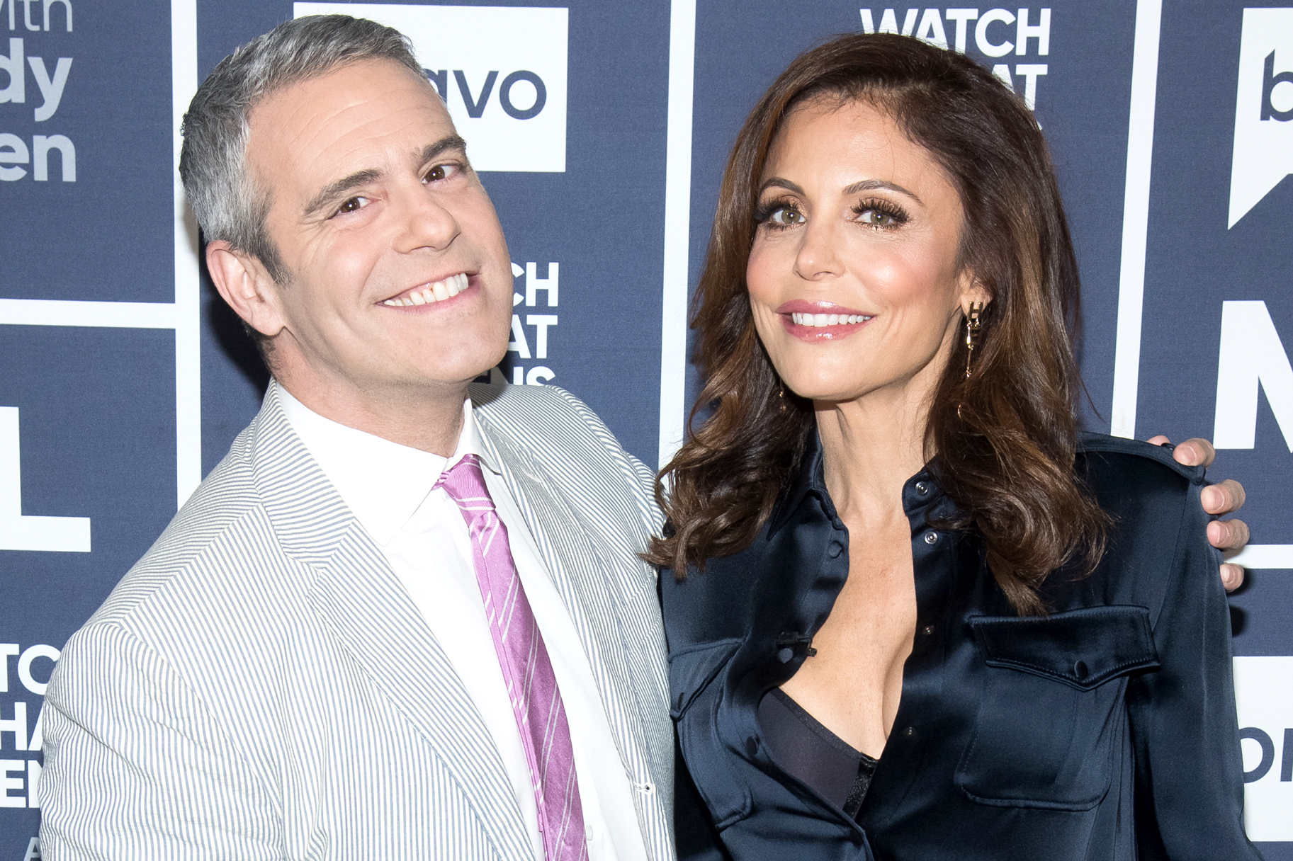 Andy Cohen Bethenny Frankel