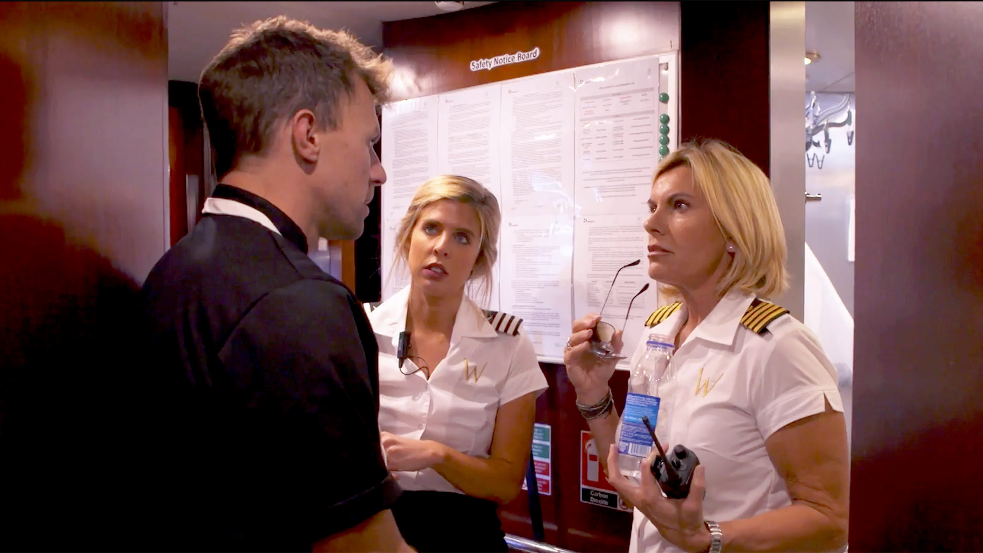 Below Deck Med 518 Tom Capt Sandy Clash