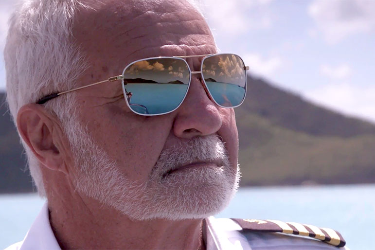 Below Deck Supertease Captain Lee