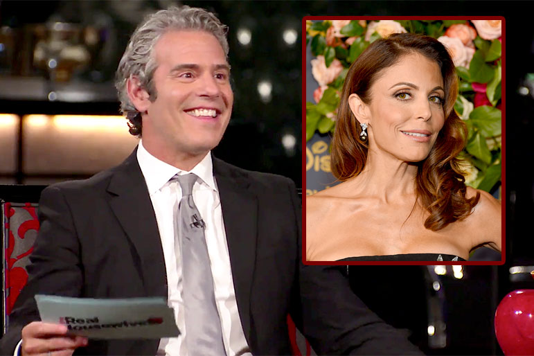Bethenny Frankel Andy Rhony Reunion