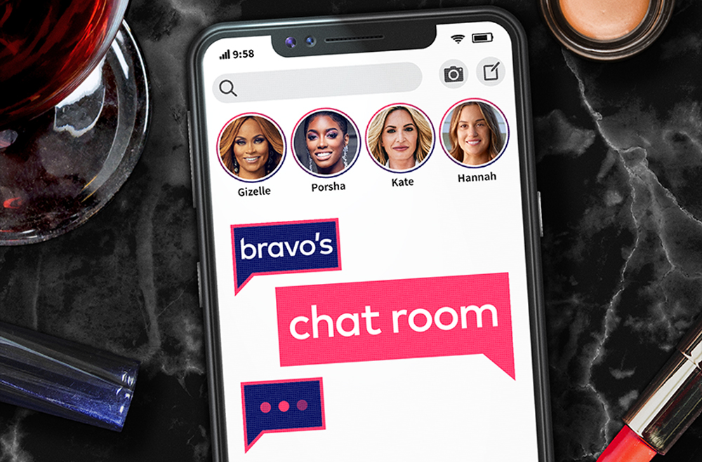 Chat Room Bravo Show Announcement