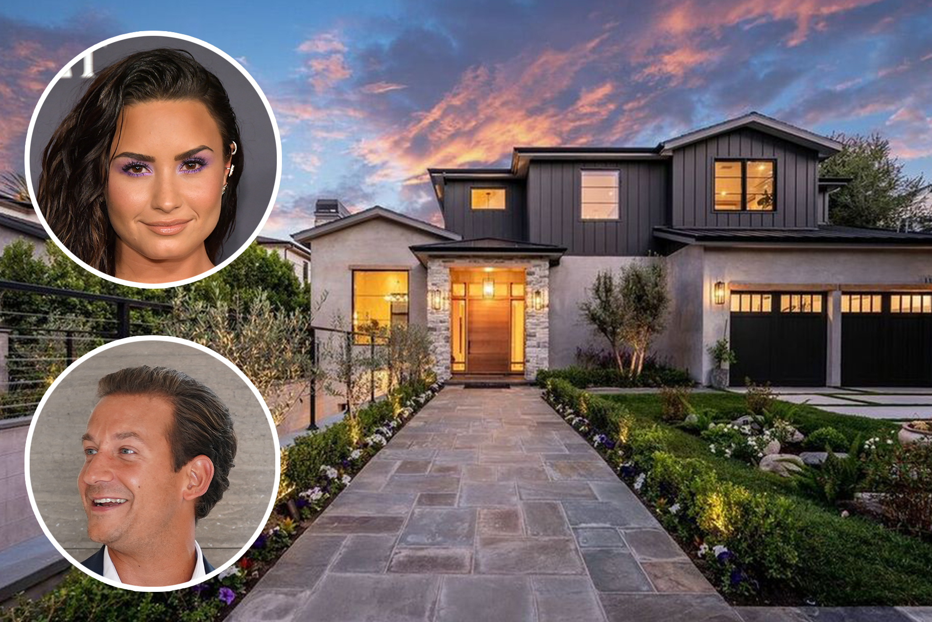 Demi Lovato James Harris New Home