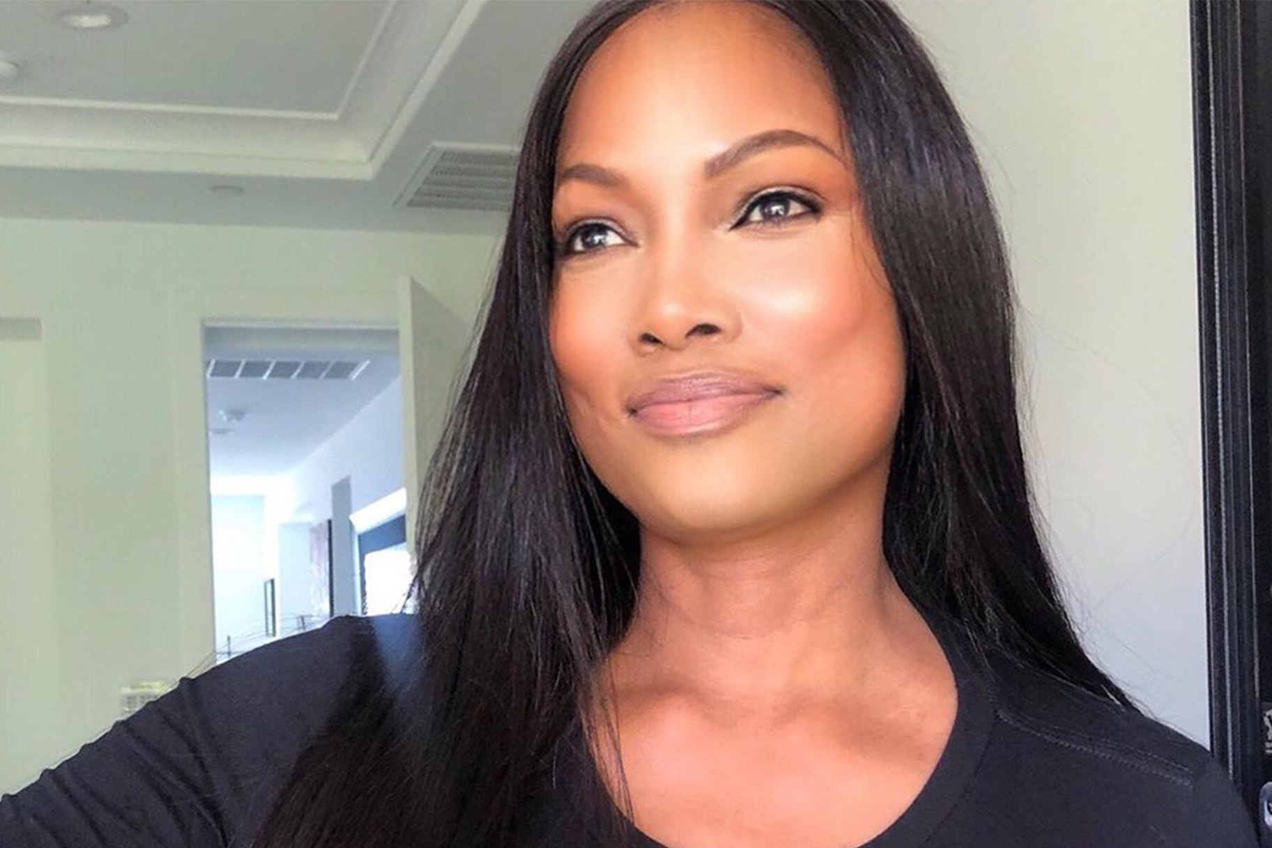 Garcelle Beauvais Blue Hair