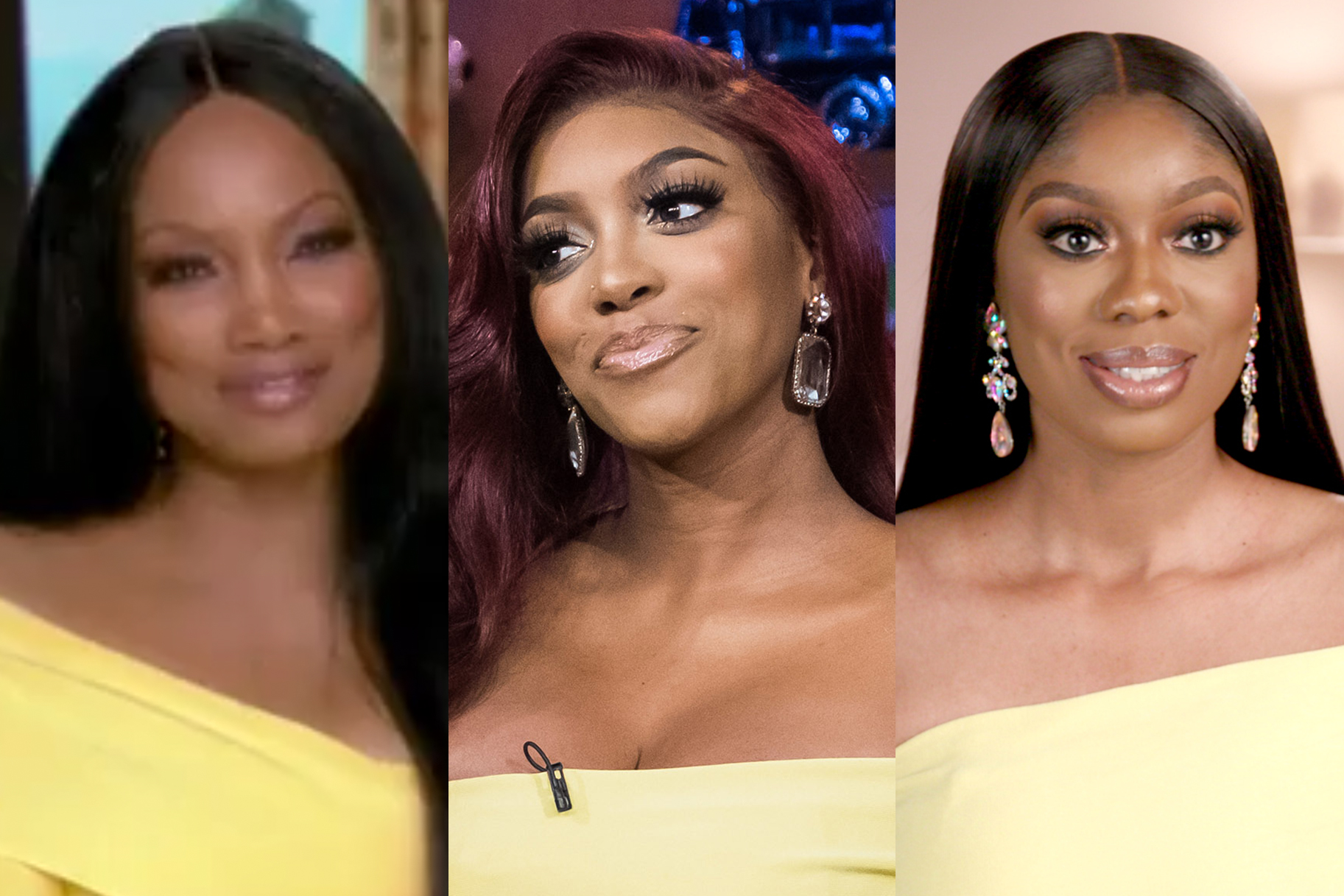 Garcelle Beauvais Porsha Williams Wendy Osefo Yellow Dress 3