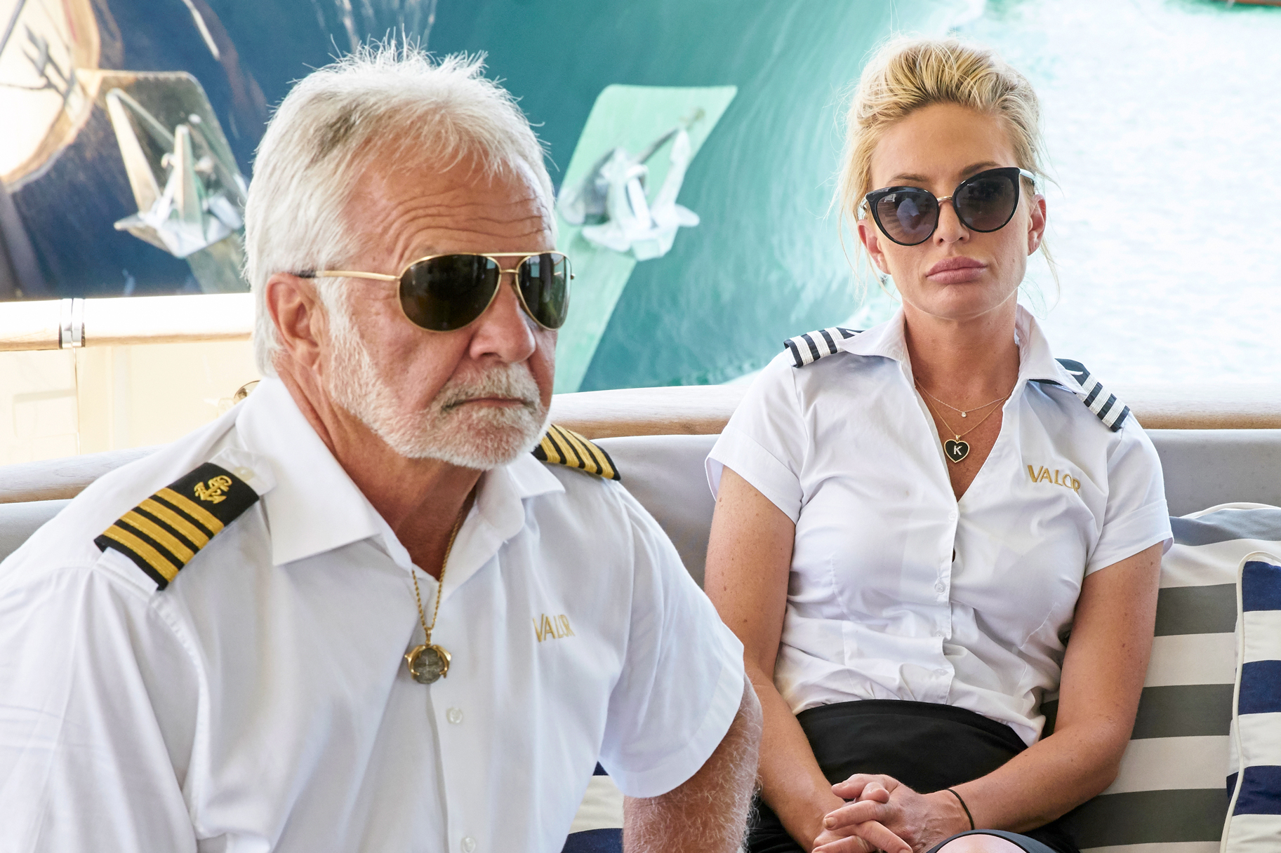 Kate Chastain Captain Lee Below Deck Season 8