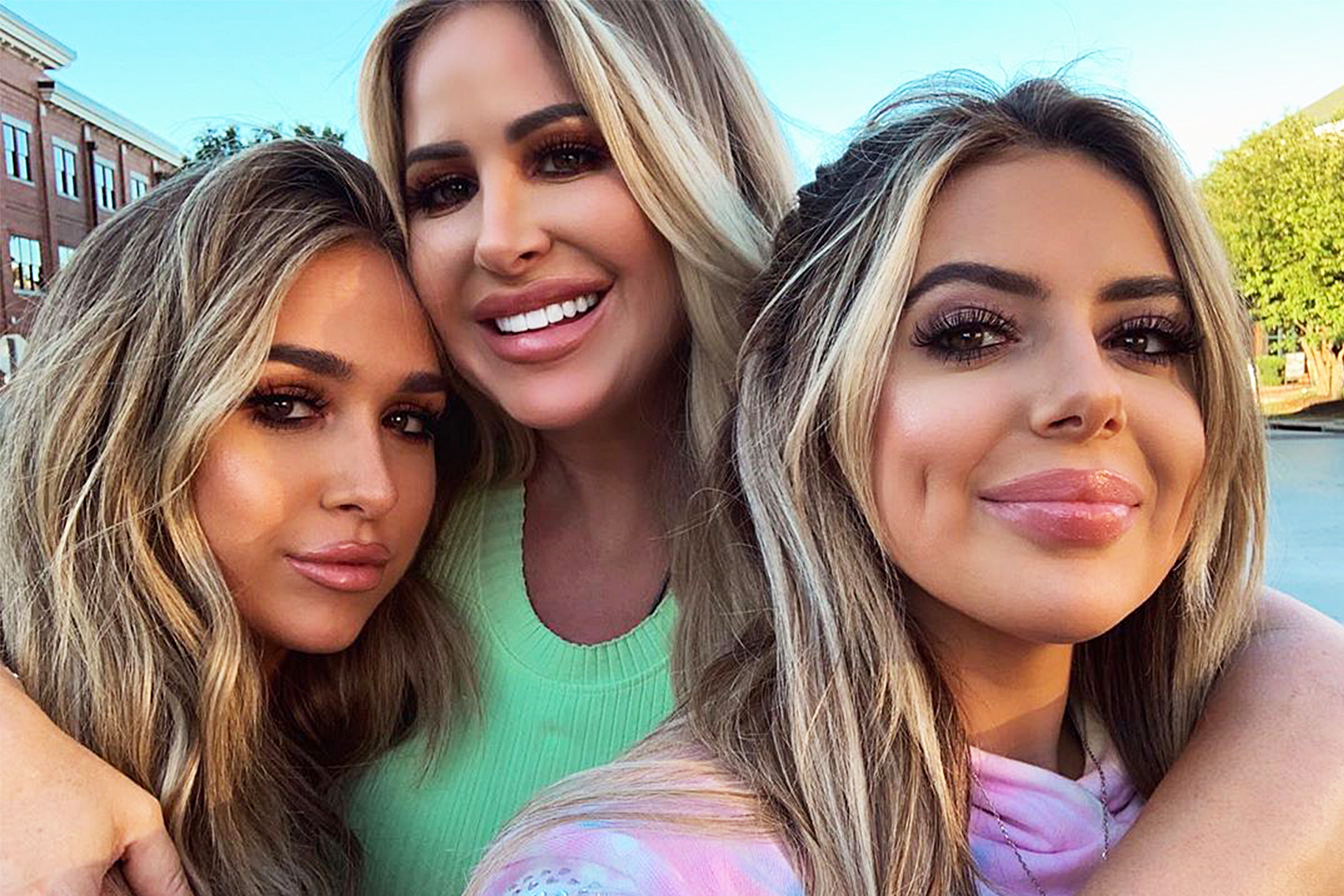 Kim Zolciak Ariana Brielle Vacation