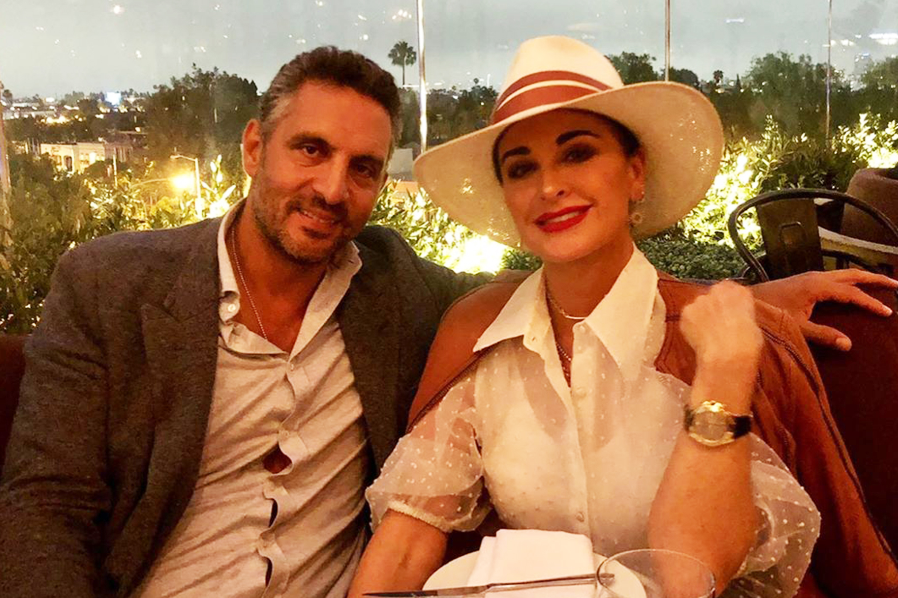 Kyle Richards Mauricio Umansky Fitness