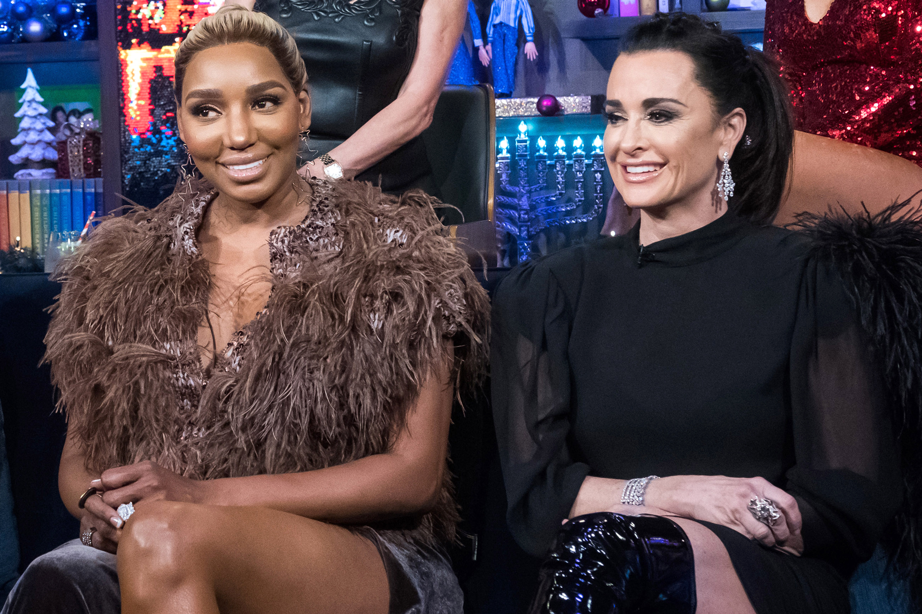 Kyle Richards Nene Leakes Rhoa