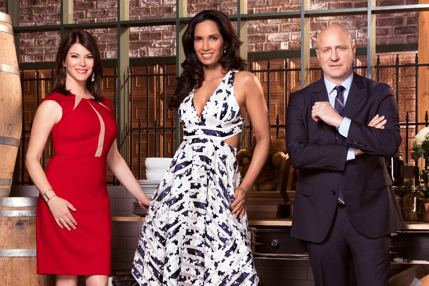 Padma Lakshmi Tom Collichio Gail Simmons