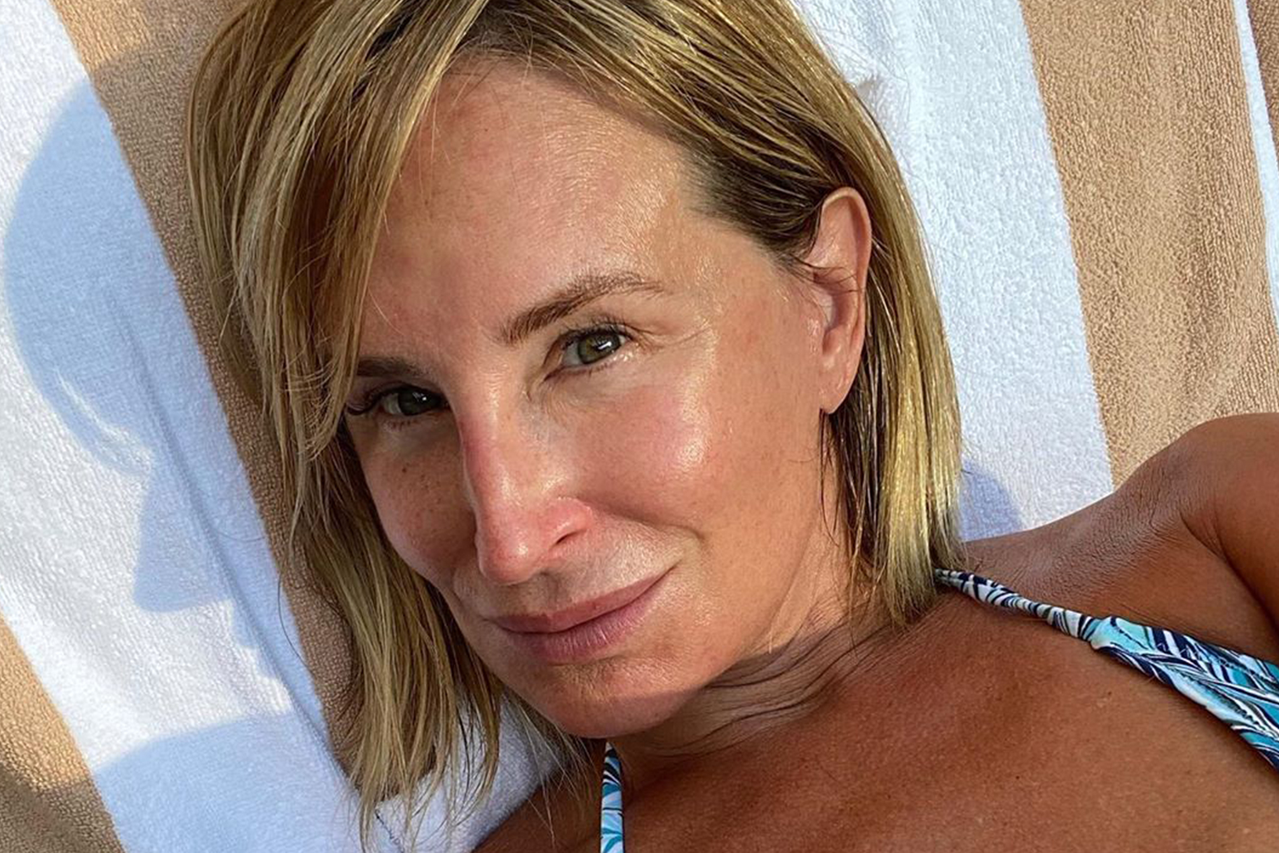 Sonja Morgan Doesnt Shower