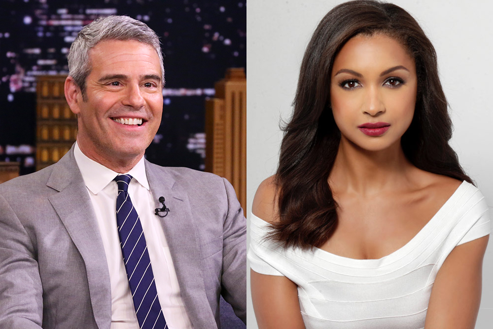 Andy Cohen Eboni K Williams Rhony