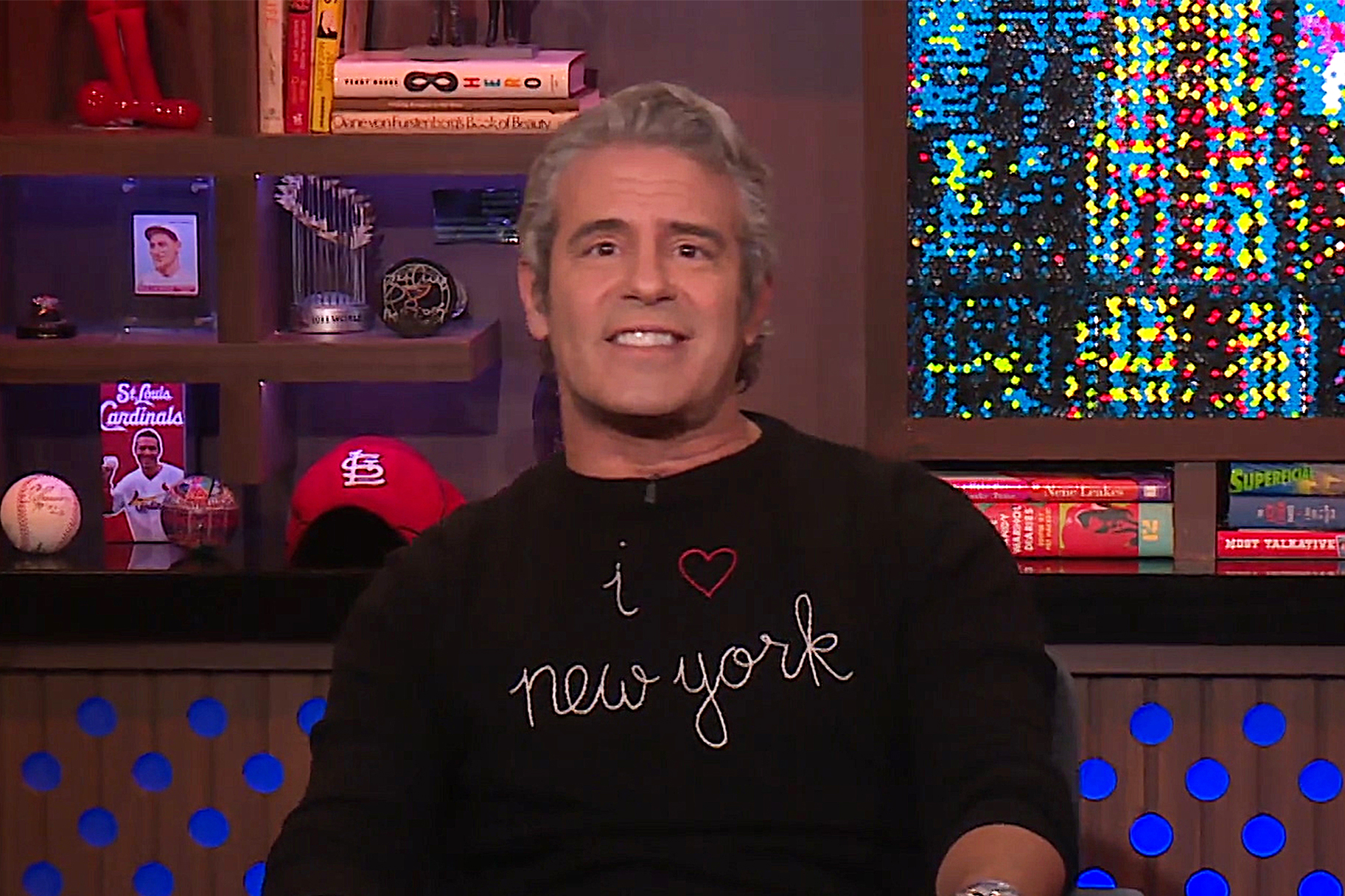 Andy Cohen Filming Clubhouse