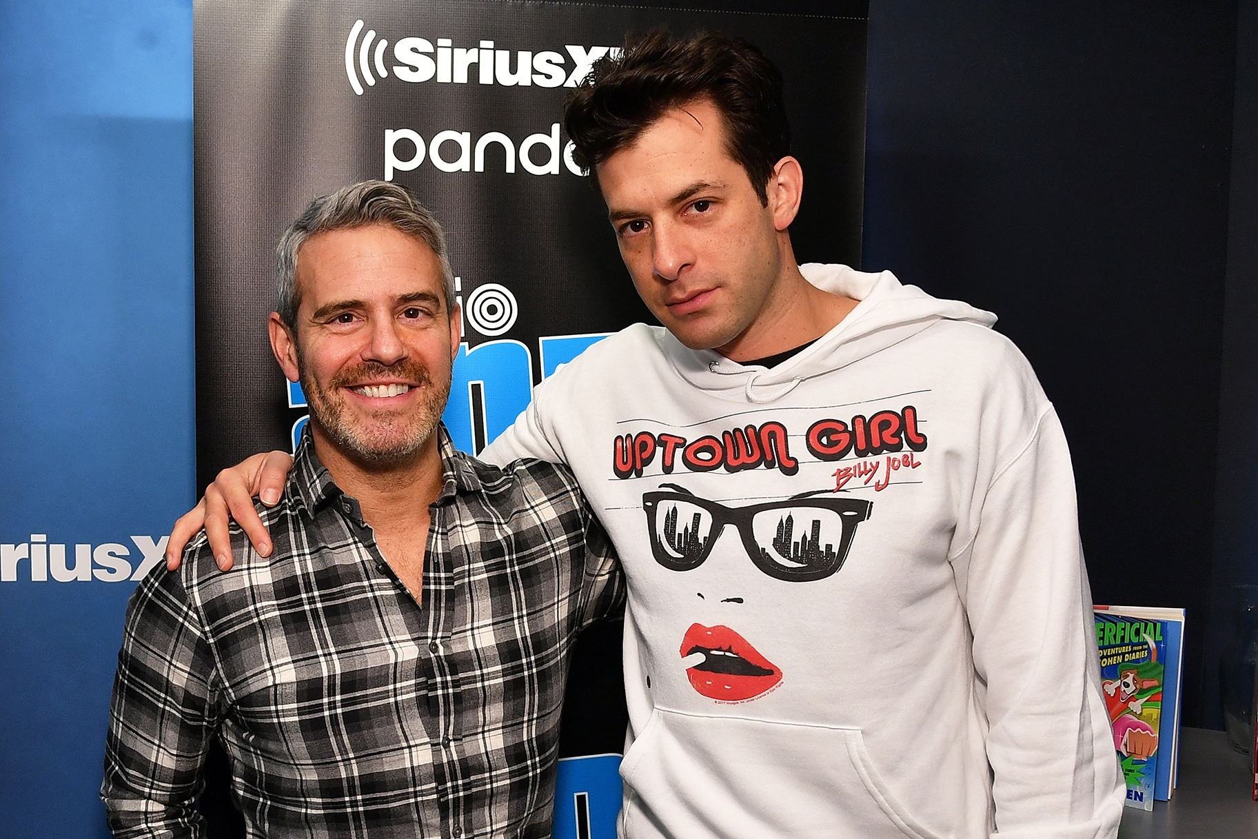 Andy Cohen Mark Ronson Cupcakes