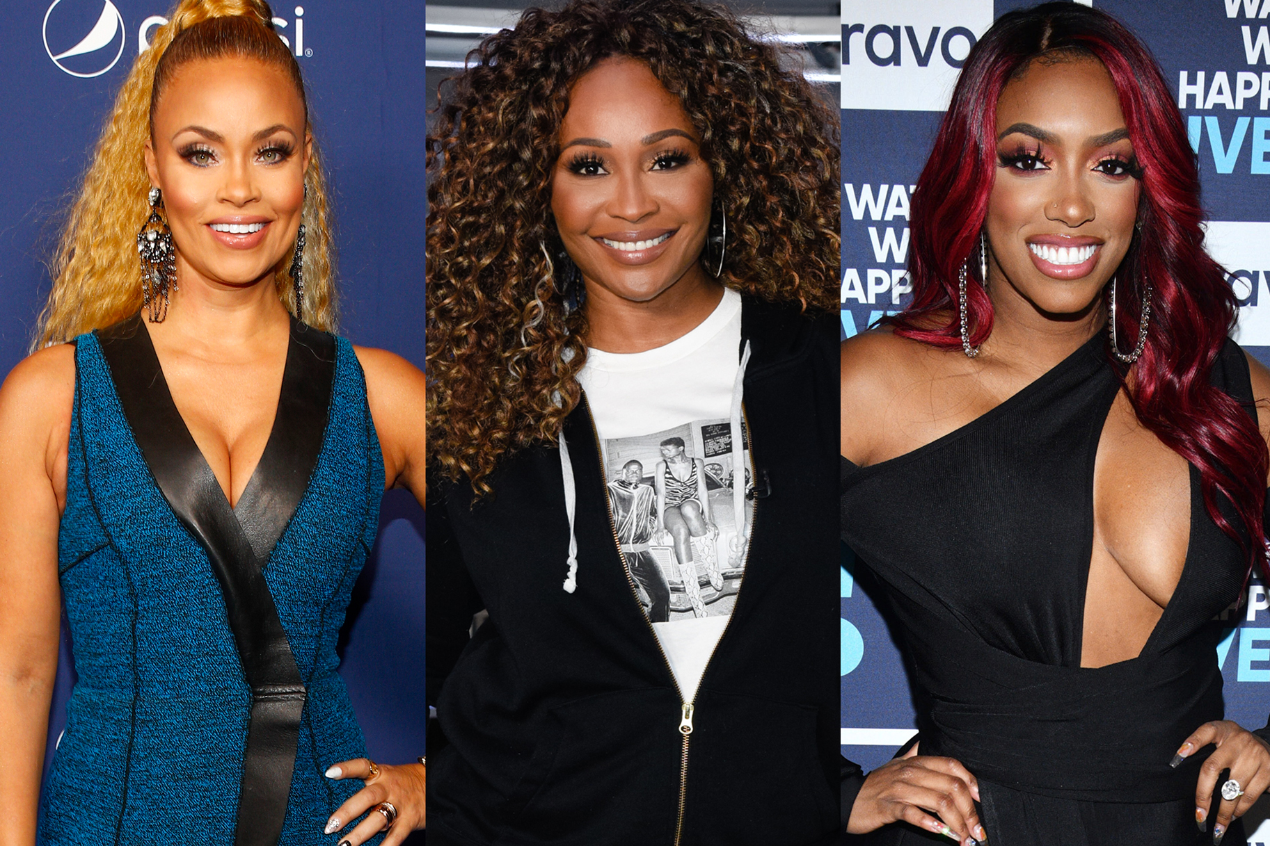 Cynthia Bailey Gizelle Bryant Porsha Williams