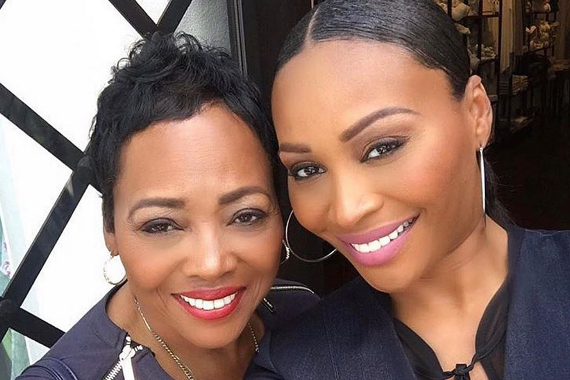 Cynthia Bailey Mom Wedding
