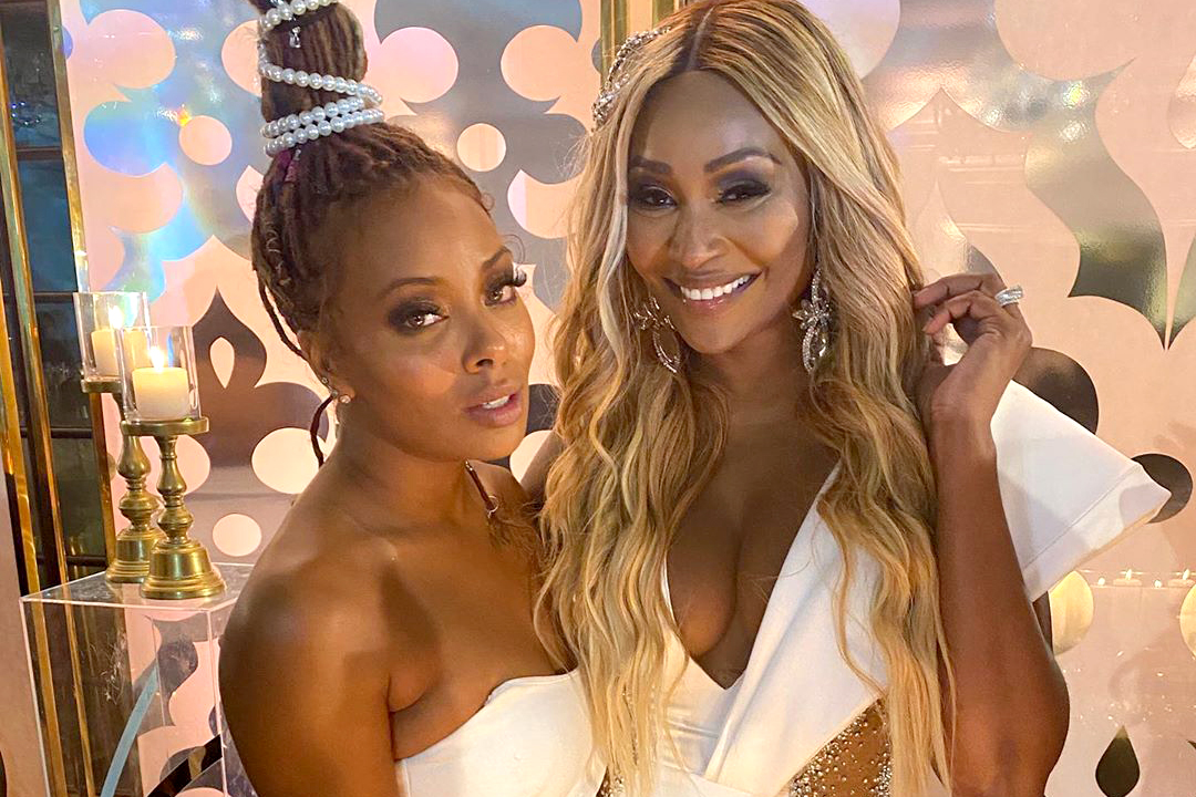 Eva Marcille Cynthia Mailey Wedding