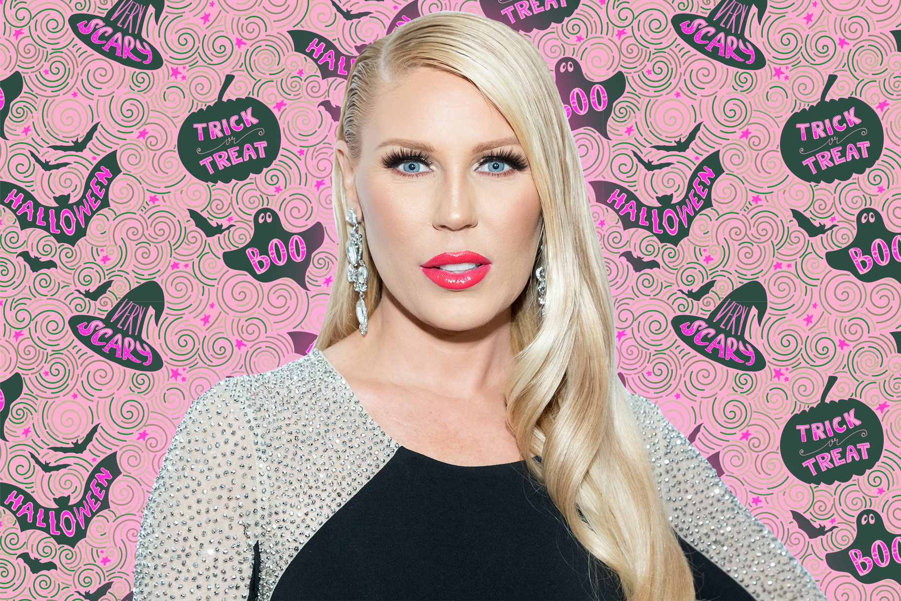 Gretchen Rossi Halloween Decor