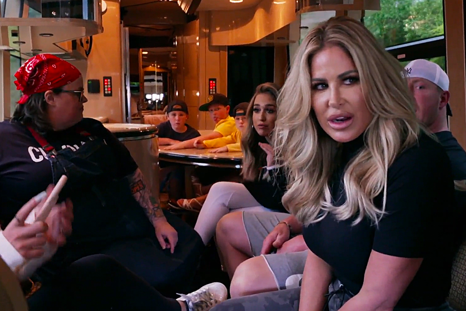 Kim Zolciak Biermann Rv Covid