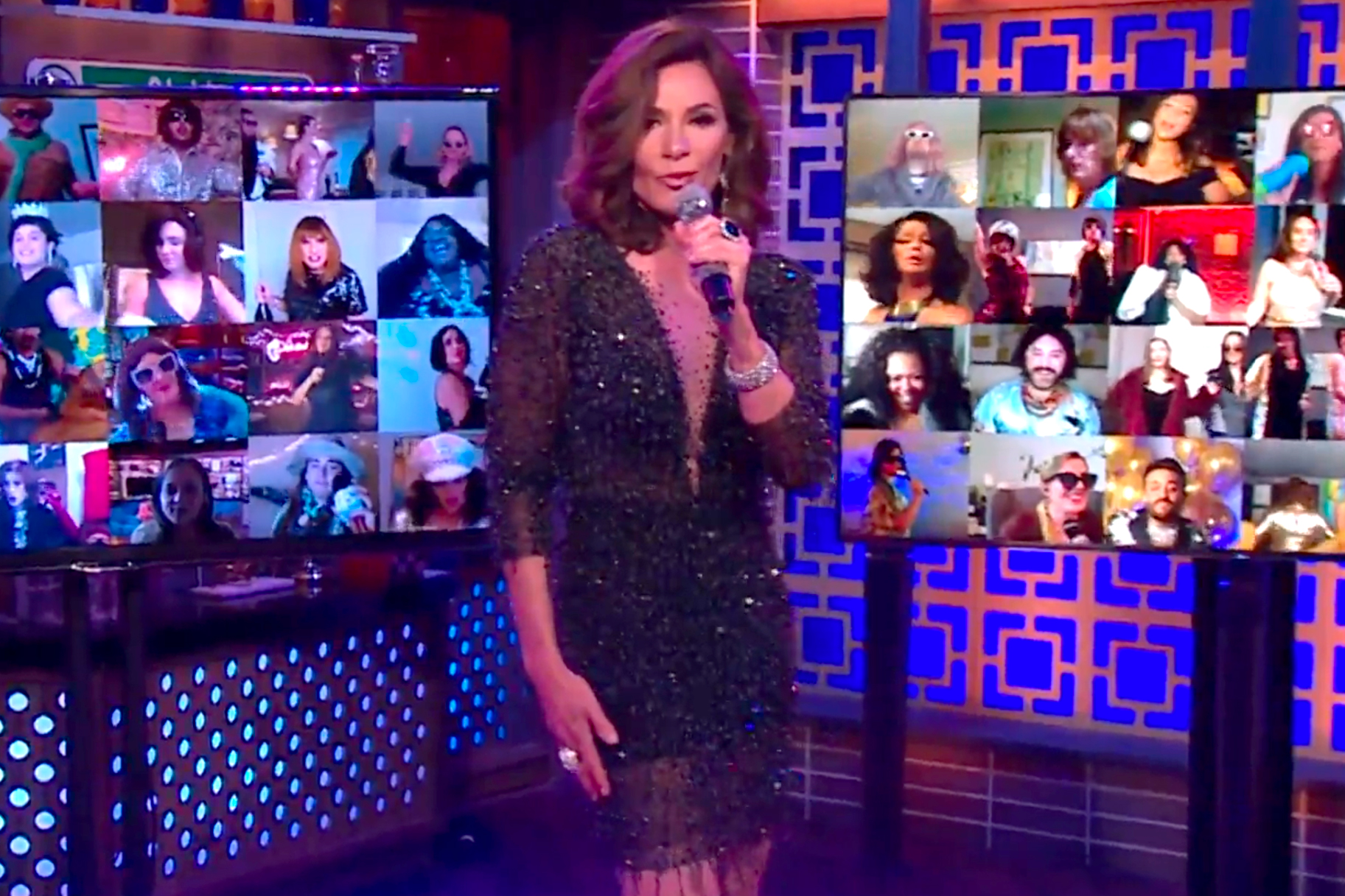 Luann Delesseps Performing Wwhl