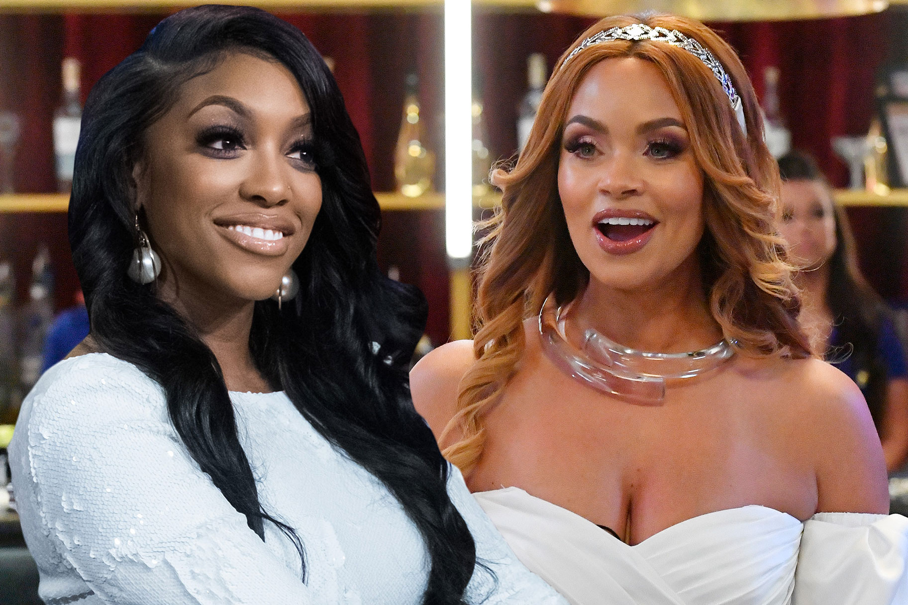 Porsha Williams Gizelle Bryant Chat Room