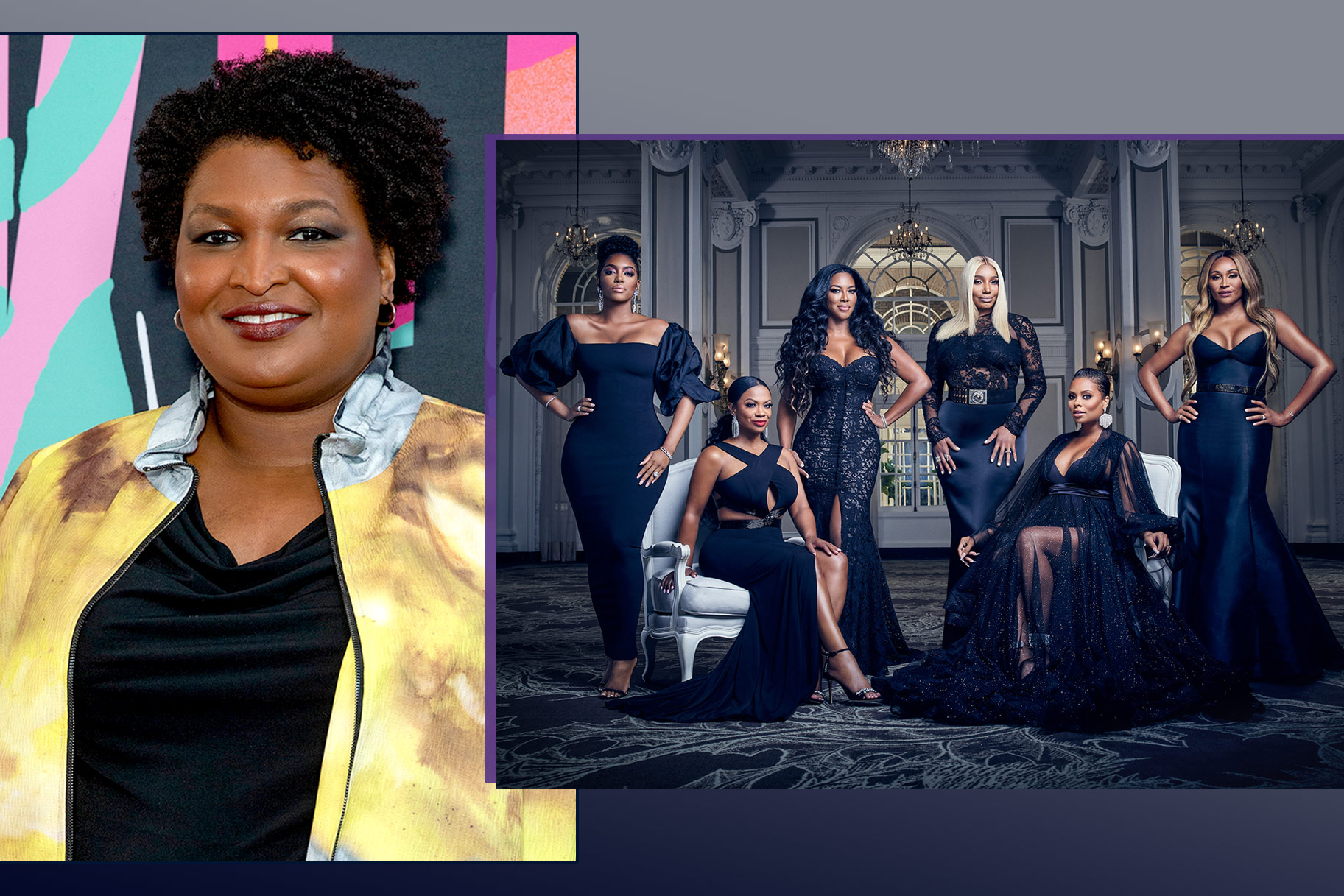 Stacey Abrams Rhoa Housewives Atlanta