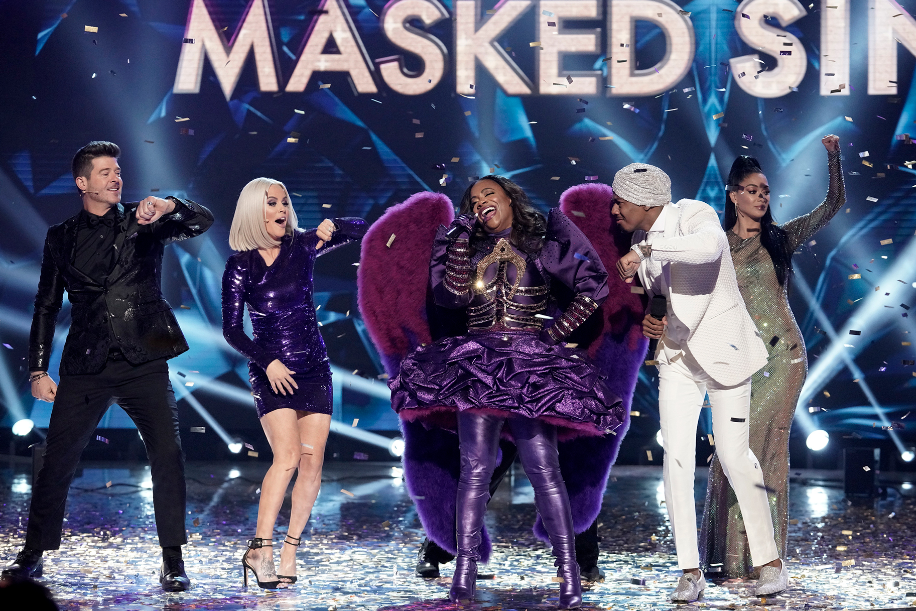 Bravolebs Contestants On Masked Singer