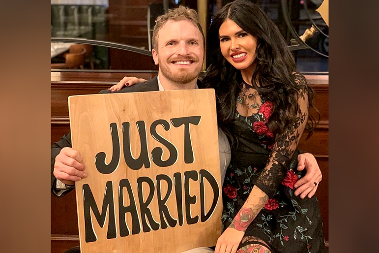 Jeff Charleston Marries Girlfriend