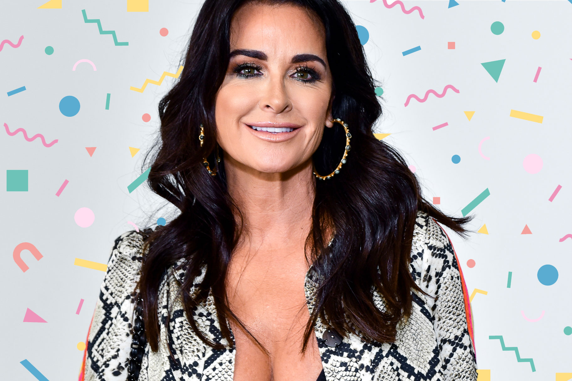 Kyle Richards Bangs