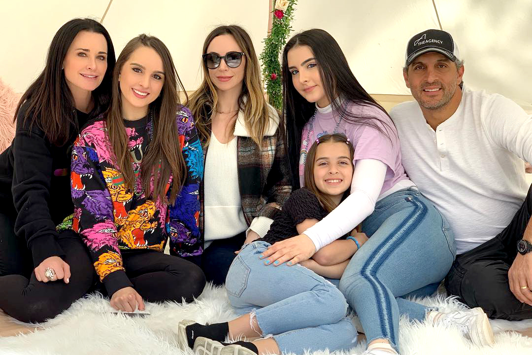 Kyle Richards Daughters Family Time