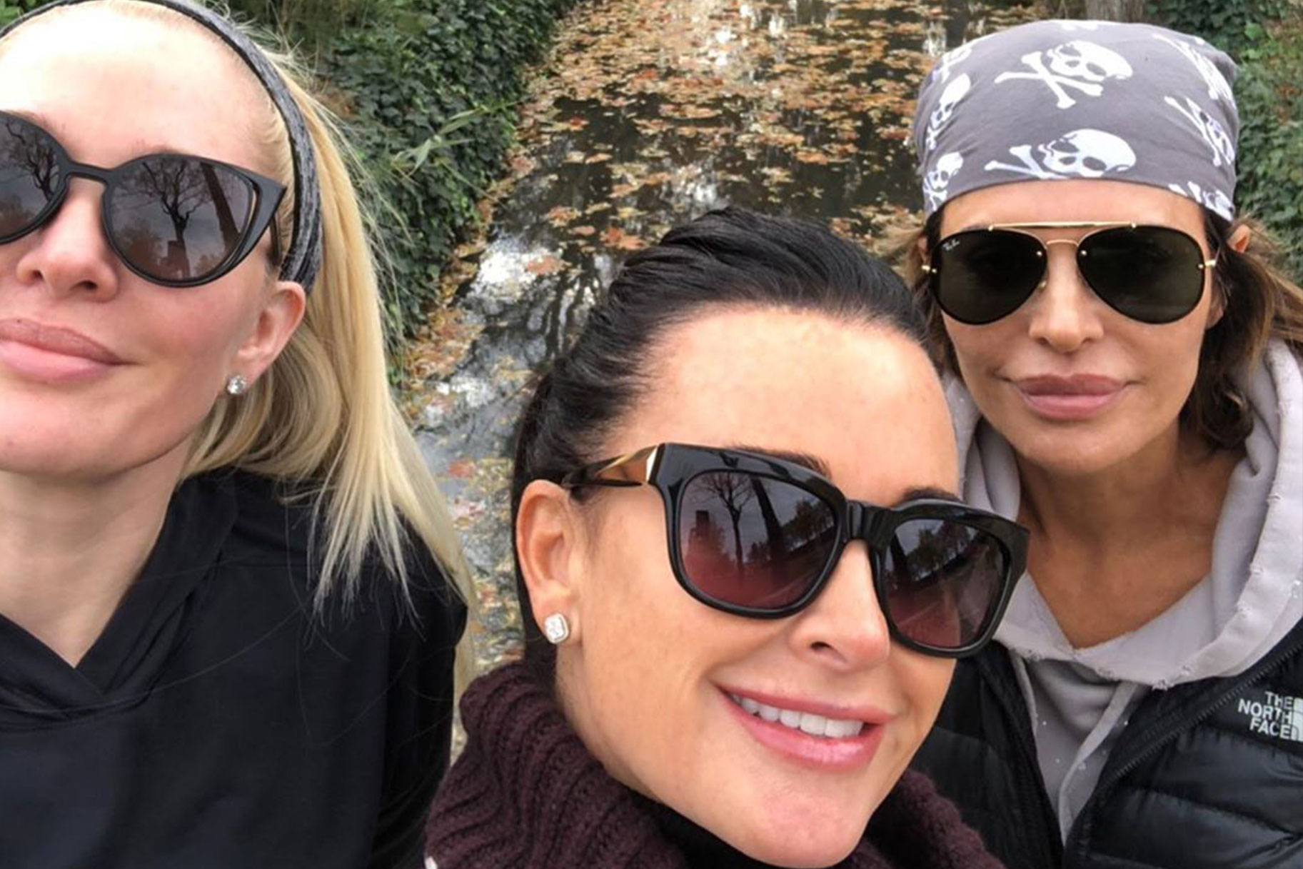 Kyle Richards Lisa Rinna Erika Jayne Same Outfits