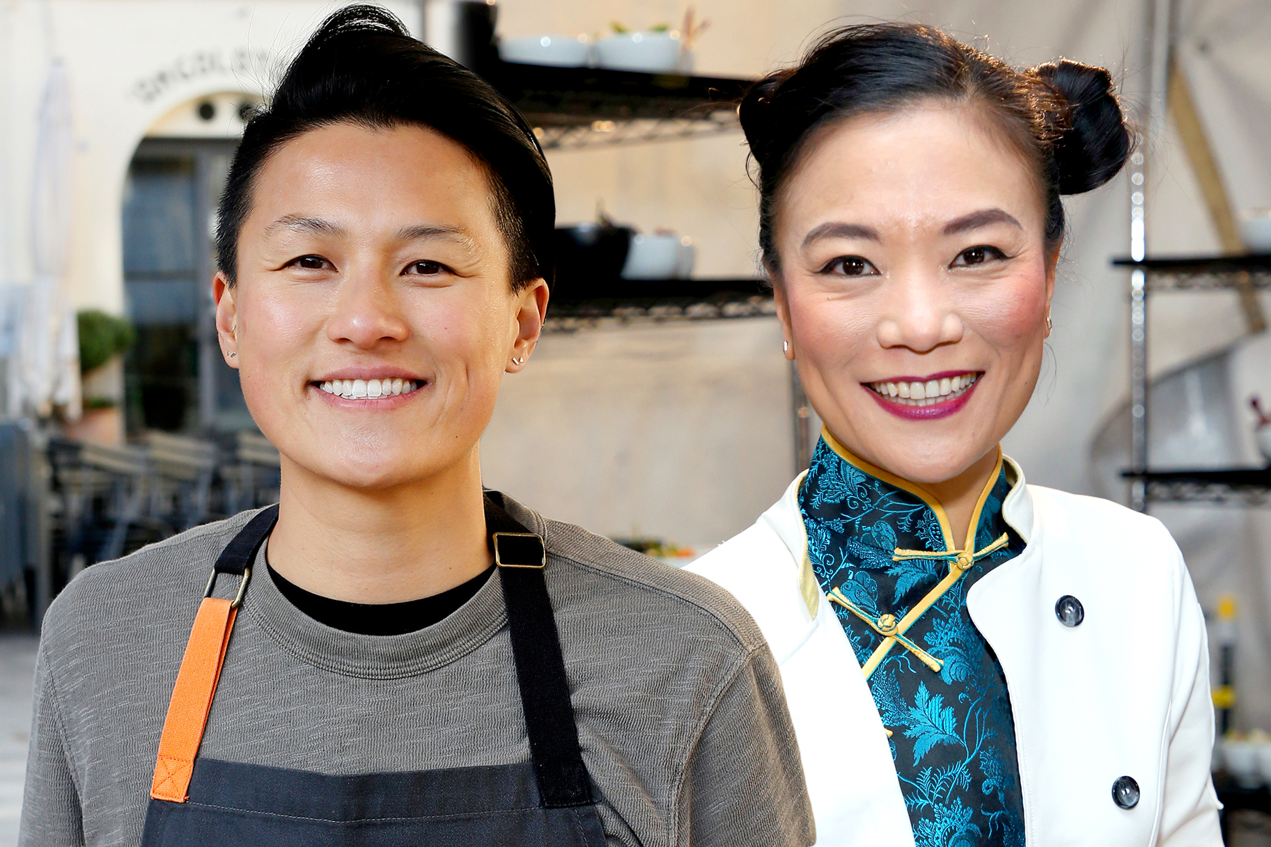 Melissa King Shirley Chung Top Chef
