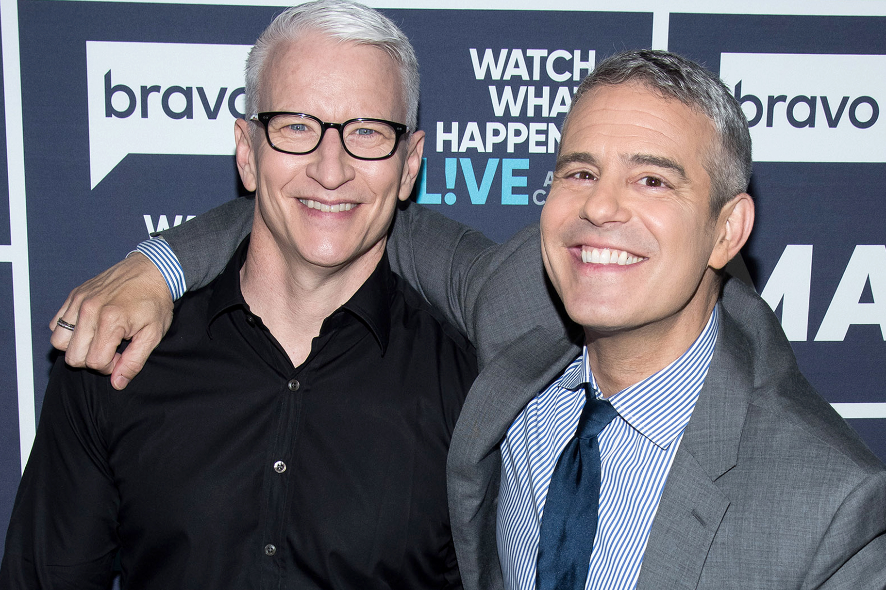 Andy Cohen Anderson Cooper Mile High Club