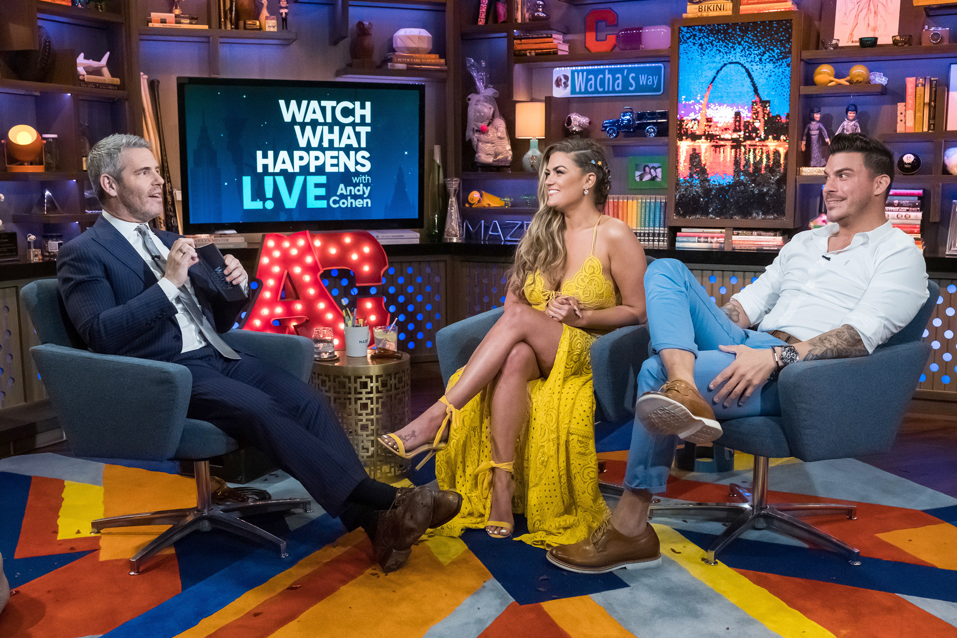 Andy Cohen Brittany Jax Taylor