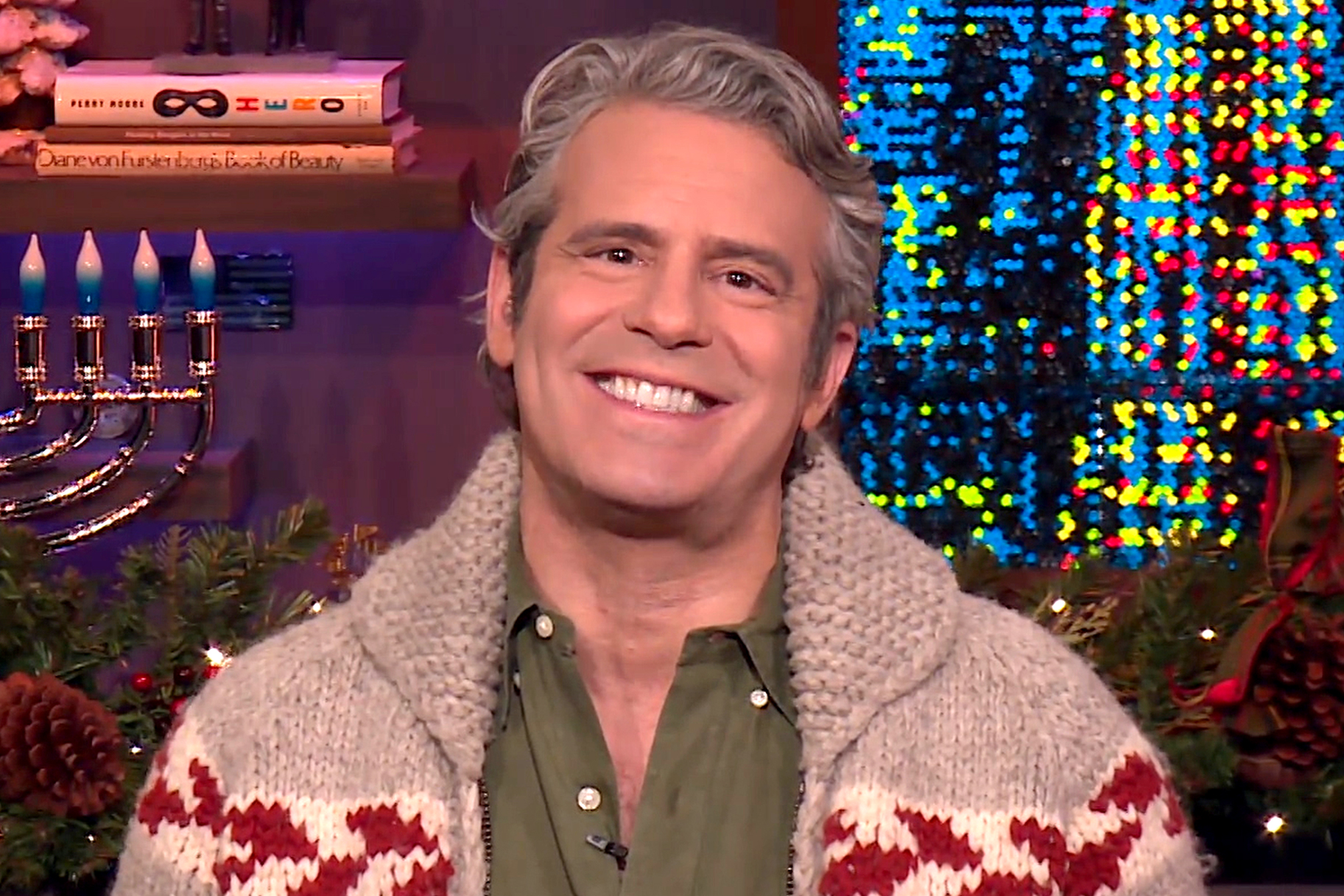 Andy Cohen Military Family Message