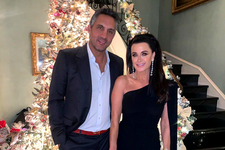 Kyle Richards Family Christmas Photo